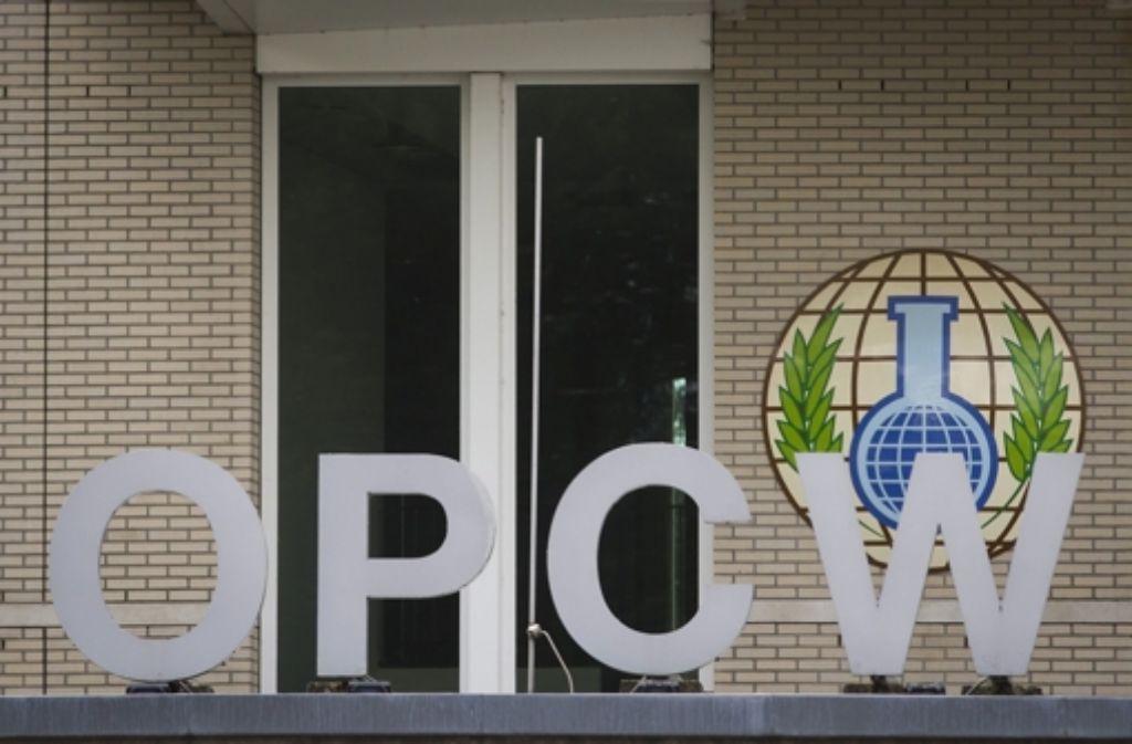 Die Organisation für das Verbot für Chemiewaffen ist ein würdiger Preisträger. Foto: dpa