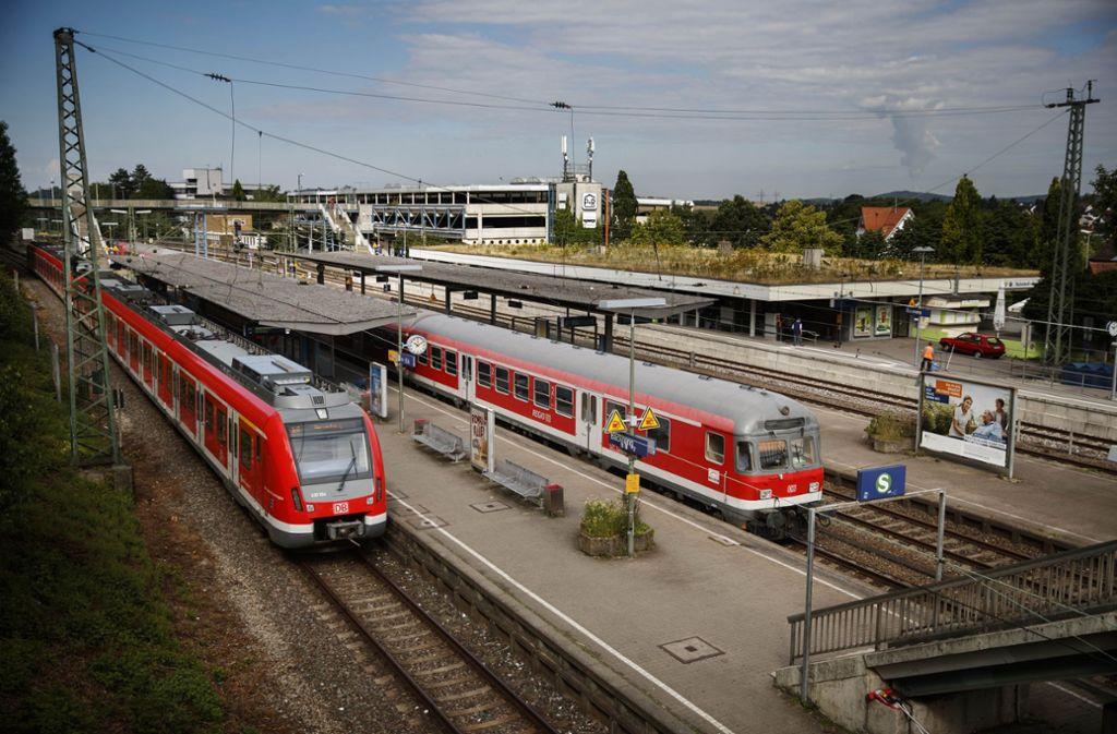 Zwischen Backnang und Kirchberg fahren ab Samstag keine S-Bahnen der Linie S 4 mehr. Foto: Gottfried Stoppel