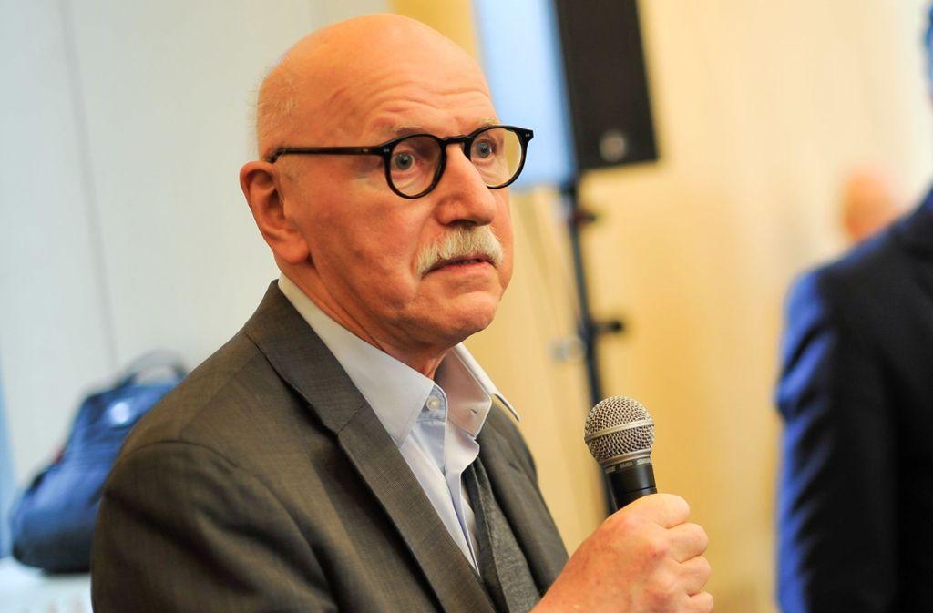 Wieland Backes spricht sich für eine Bürgerbefragung zur Opernsanierung aus. Foto: Lichtgut/Max Kovalenko