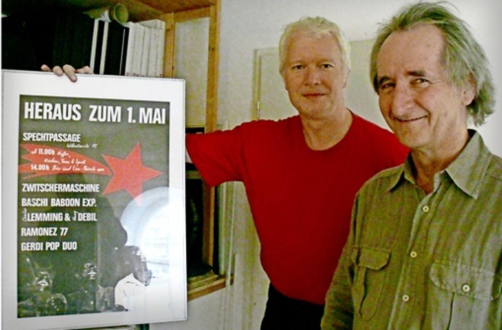 Engagierte Dokumentare: Michael Koltan (links) und Volkmar Vogt. Foto: Heinz Siebold