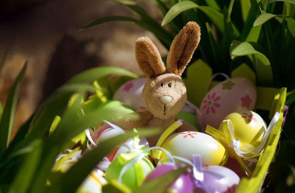 In den Osternestern der Kinder finden sich neben Schokolade häufig kleinere Spielsachen. Foto: dpa-Zentralbild