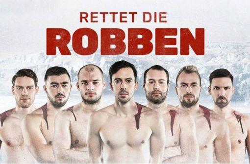 Deutsche Handballer protestieren mit nackten Oberkörpern