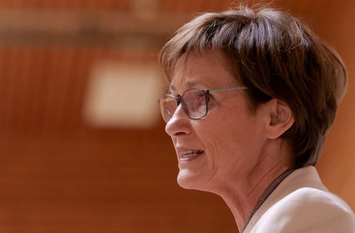 Landtagsvizepräsidentin Sabine Kurtz (CDU) sieht die politische Willensbildung grundsätzlich zuerst von den gewählten Volksvertretern getragen. Foto: factum