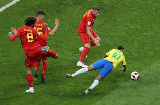 Diskussion um Neymar-Schwalbe und Videobeweis