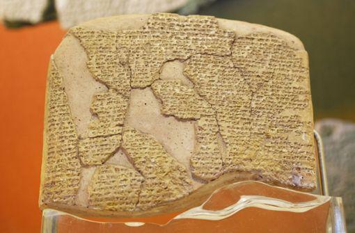 Eine Frau schrieb einen der ältesten Texte