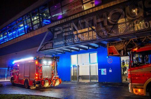 Kabelbrand in der Discothek Penthouse