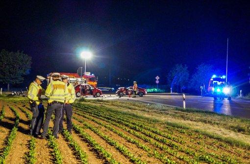 Motorradfahrer stirbt nach schwerem Unfall