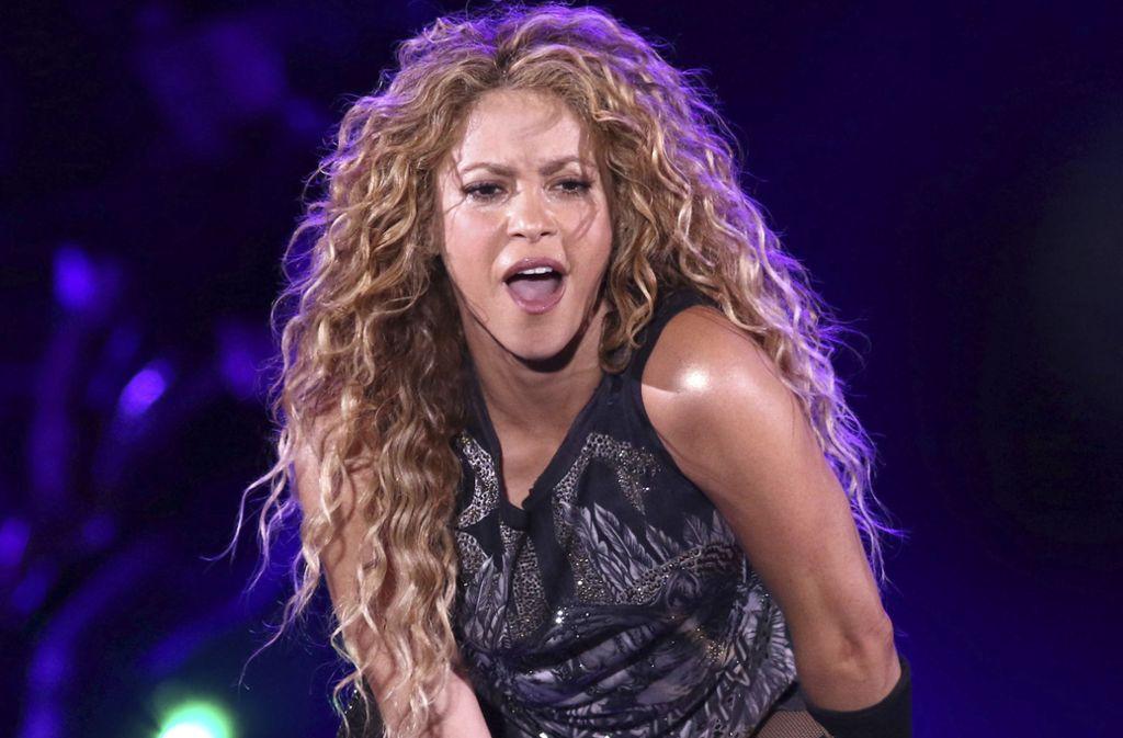 Shakira im August bei einem Auftritt in New York. Foto: AP