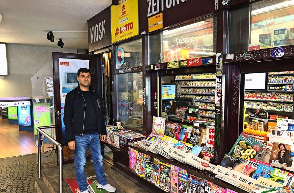 Zeitungen und Musik im Klassik-Kiosk Foto: Martin Haar