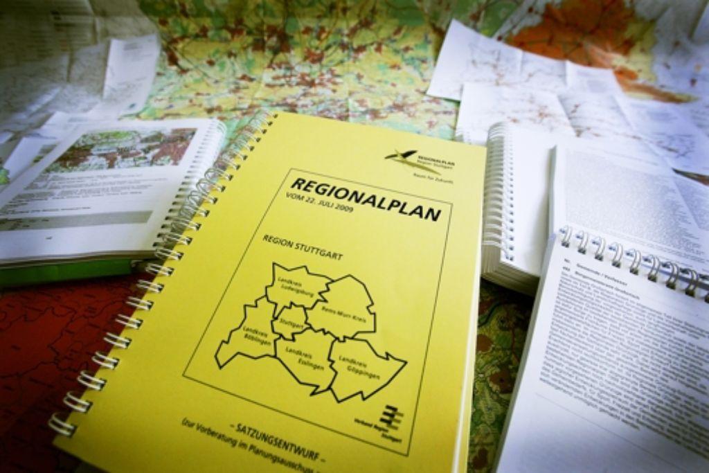 Der Verwaltungsgerichtshof hat sich mit dem Regionalplan befasst. Foto: Norbert J. Leven