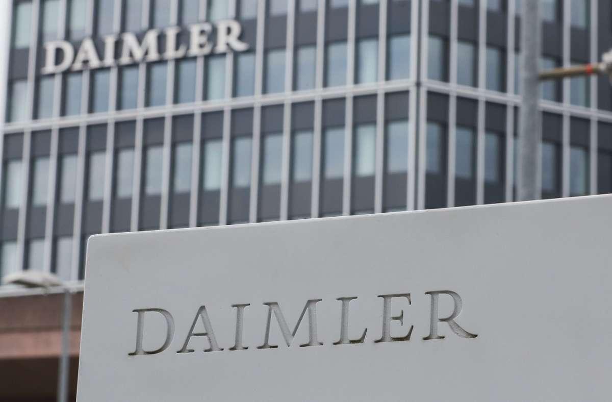 Ein 21-Jähriger hatte versucht, Daimler zu erpressen. Foto: dpa/Tom Weller