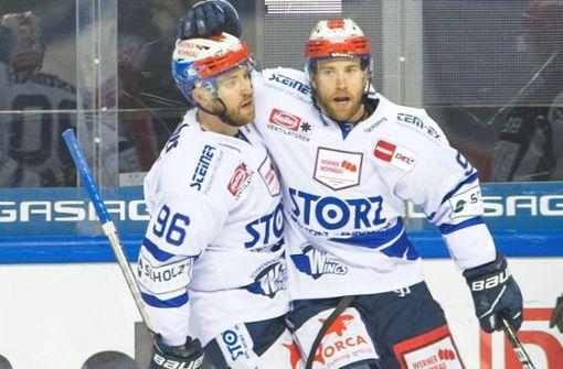 Warum die Eishockey-Zwillinge unzertrennlich sind