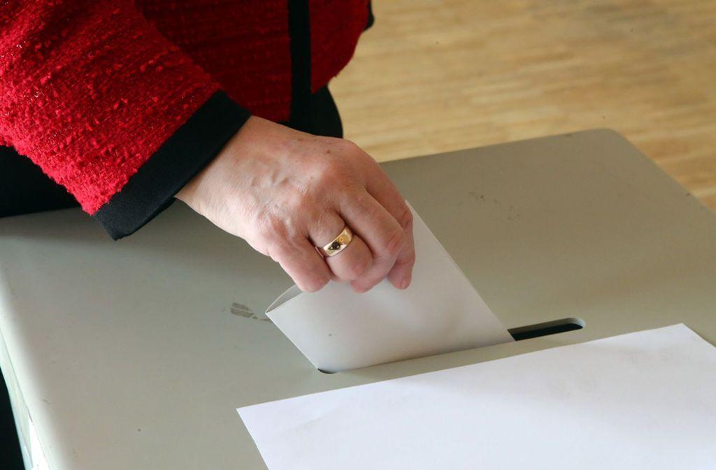 Am 25. Mai sind Europawahlen, gleichzeitig werden die Kommunalparlamente gewählt. Die CDU im Landkreis sieht sich gut vorbereitet. Foto: dpa-Zentralbild