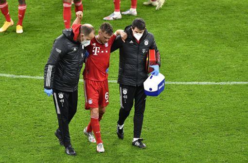 Bayern-Star erleidet Meniskuseinriss im Knie