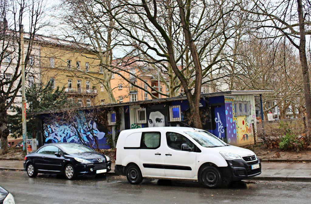 An der Gutenbergstraße könnten  Fahrradgaragen entstehen. Foto: Tilman Baur