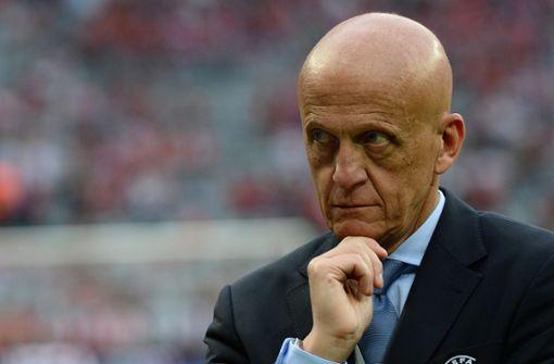 Schiedsrichter-Boss Pierluigi Collina tritt zurück