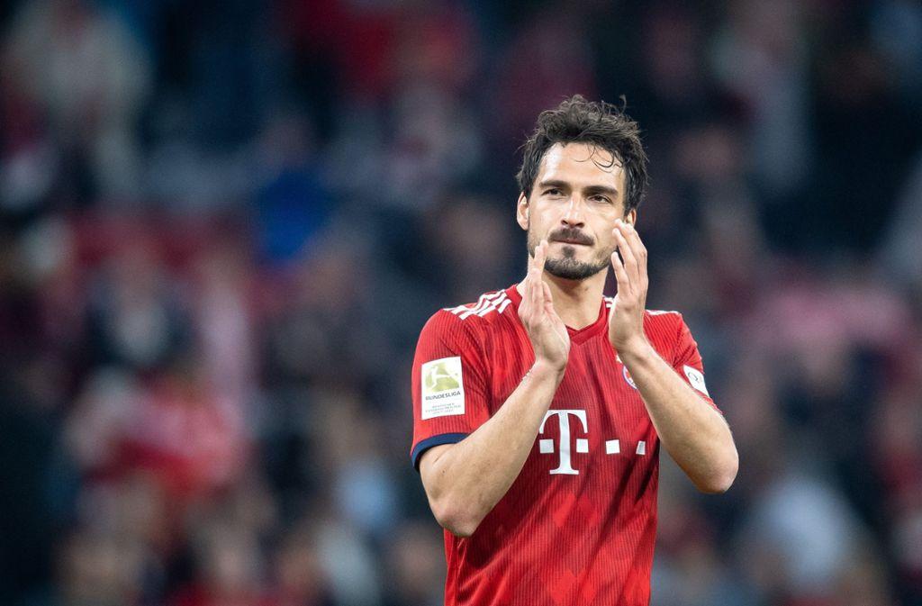 Bald nicht mehr im Bayern-Trikot: Mats Hummels wechselt zum BVB. Foto: dpa