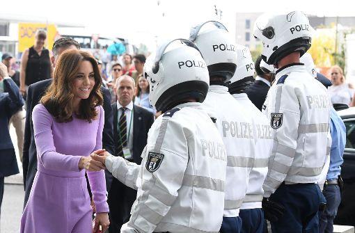 Auch britische Royals reisen mit dem ICE
