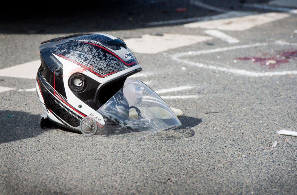 Zahlreiche Motorradfahrer verunglückten am langen Osterwochenende. Foto: dpa
