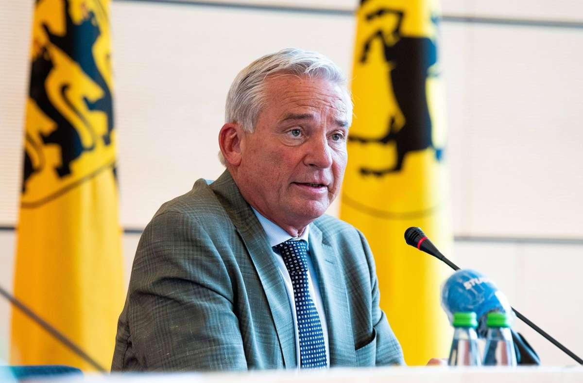 Innenminister Thomas Strobl (CDU). Foto: 7aktuell.de/Marc Gruber