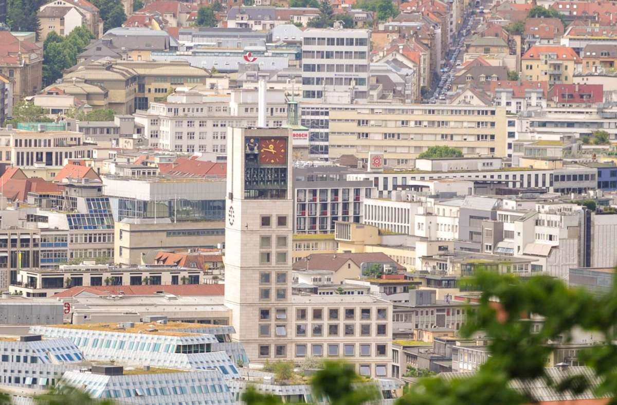 Die Gebäude der Stadt Stuttgart sollen bis 2030 klimaneutral werden Foto: Lichtgut/Max Kovalenko