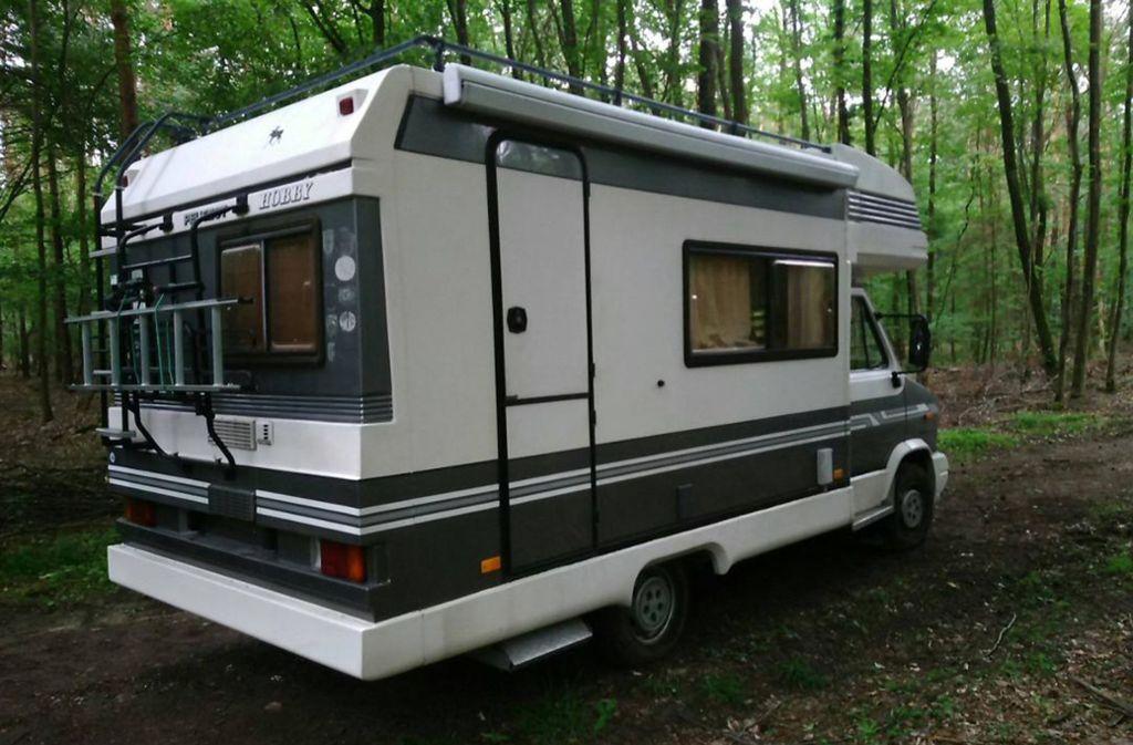 Mit diesem Wohnmobil soll die 47-Jährige entführt worden sein Foto: dpa