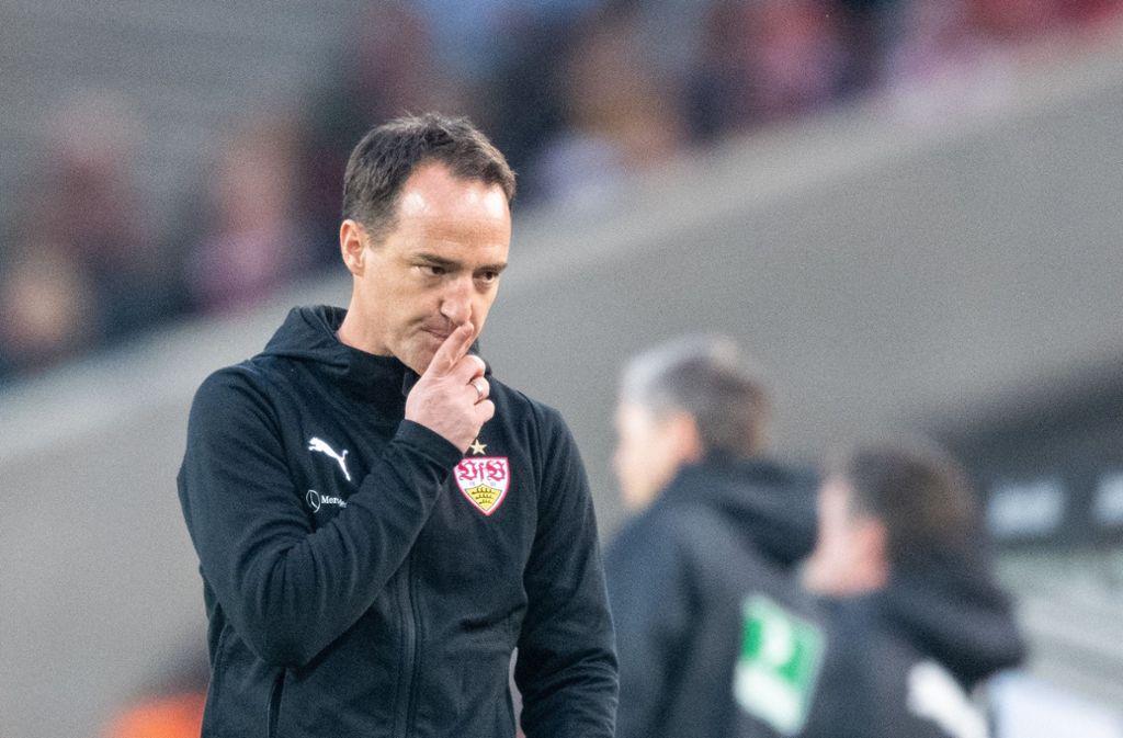 Nico Willig und der VfB Stuttgart wollen den Relegationsplatz sichern. Foto: dpa
