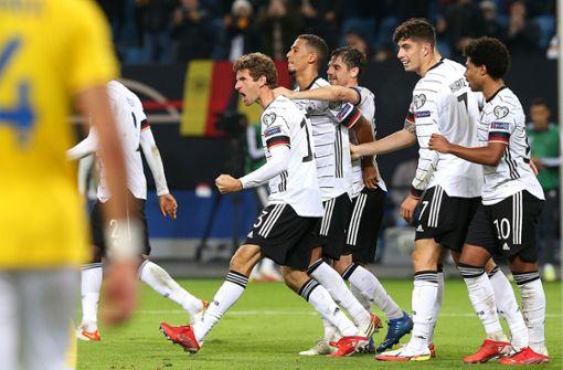 Thomas Müller und Serge Gnabry – die Torschützen ragen heraus
