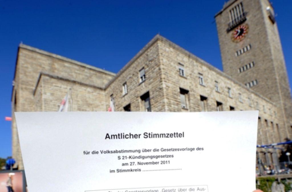 Der Verband Region Stuttgart hat 620.000 Euro für die Volksabstimmungs-Kampagne ausgegeben. Foto: dpa