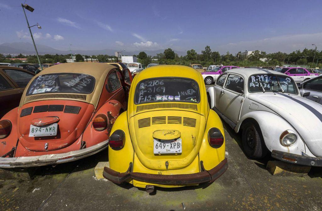 Volkswagen stellt die Produktion seines Beetle im kommenden Jahr ein. Foto: AFP