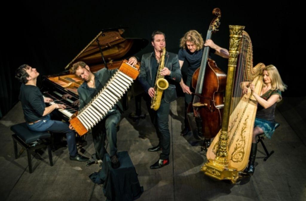 Die Gruppe Quadro Nuevo gibt bei den Jazztagen gleich zwei Konzerte, eines für Erwachsene und eines für Kinder. Foto: Veranstalter