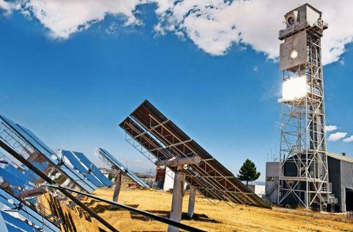 Grüner Sprit aus dem Solarofen