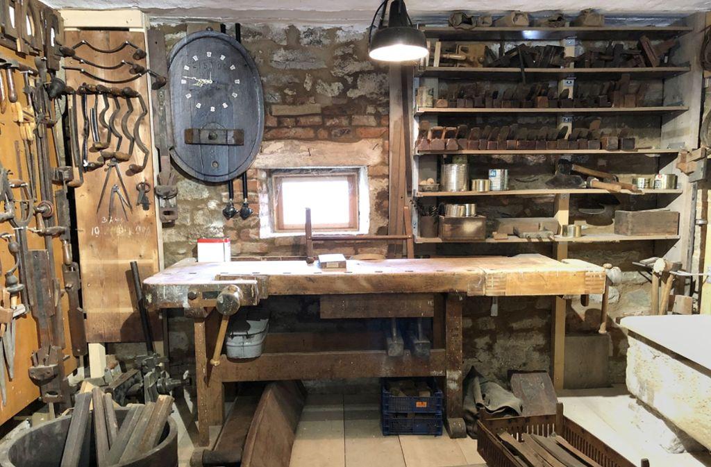 Die Küferei-Werkstatt der Familie Brözel  ist nun Foto: Kurz