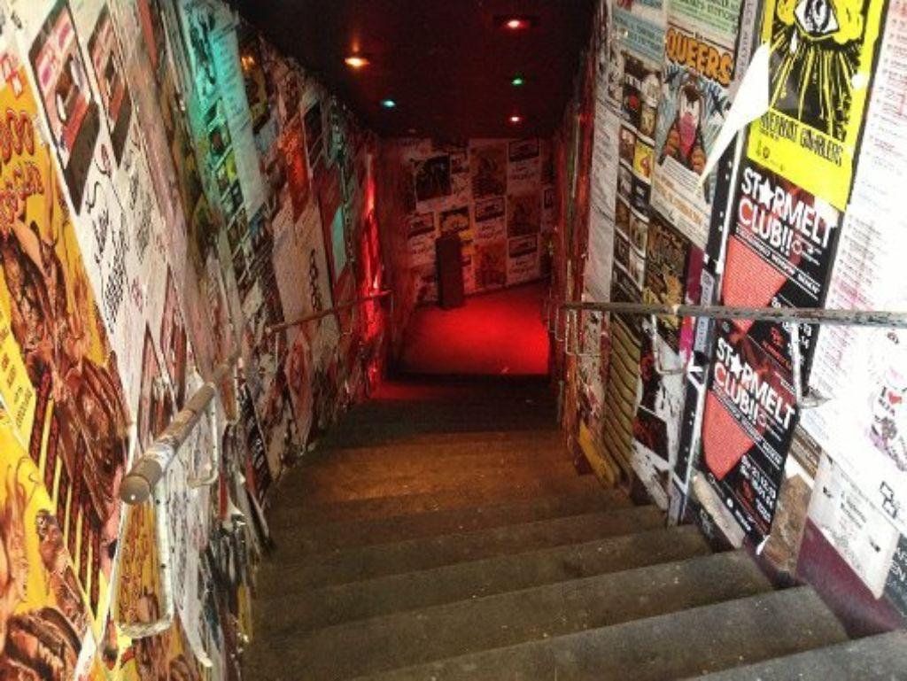 Alle Fans atmen auf: die Stäffele runter zum Keller Klub bleiben auch weiterhin geöffnet. Foto: StZ