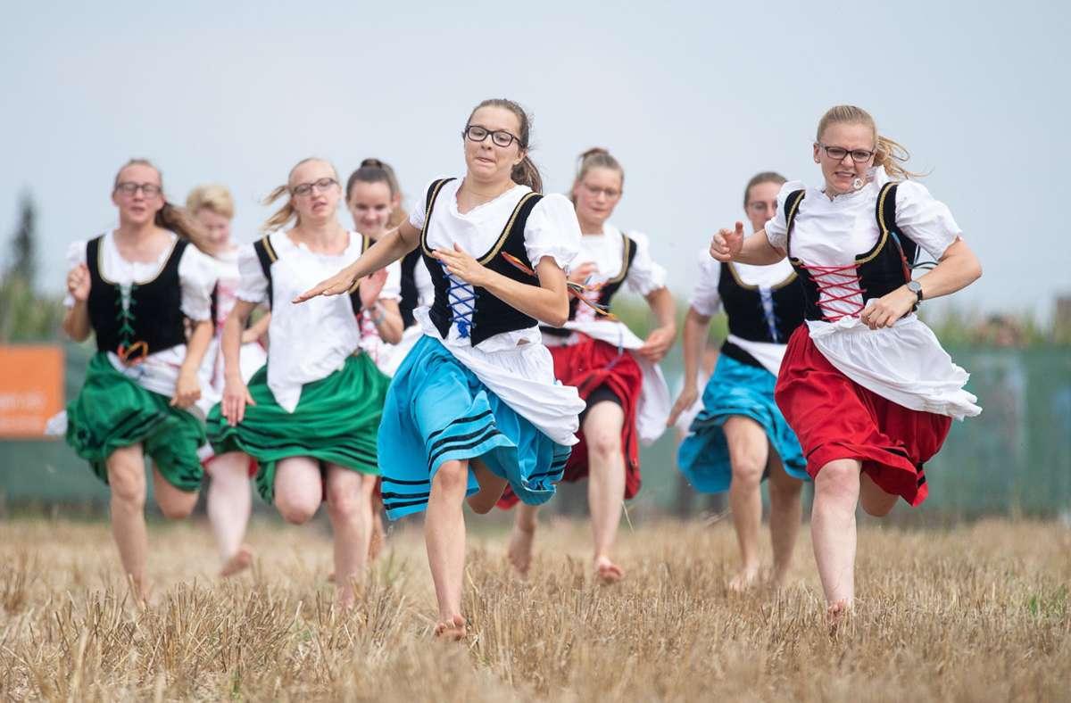 Die Veranstaltung in Markgröningen hat große Tradition (Archivbild). Foto: dpa/Sebastian Gollnow