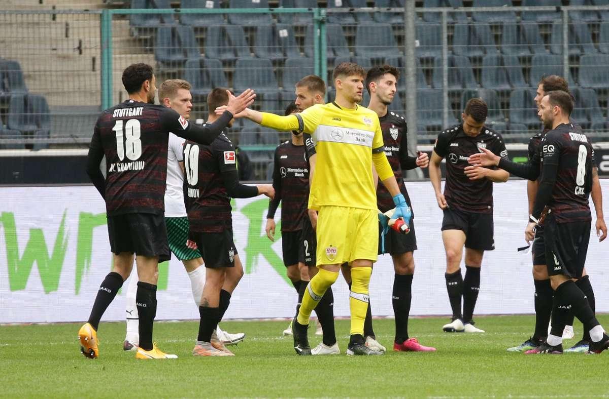 Der VfB darf sich noch kleine Hoffnungen auf den Europapokal machen. Foto: Pressefoto Baumann/Hansjürgen Britsch