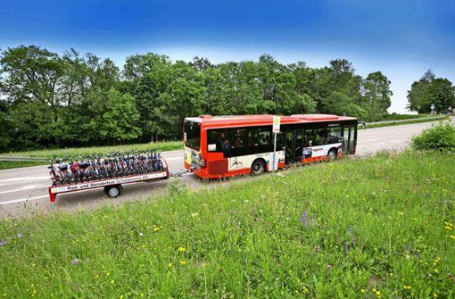 Freizeitbusse nehmen vorerst keine Fahrräder mit
