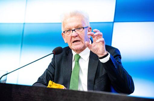 So äußert sich Winfried Kretschmann zum Streit um Boris Palmer