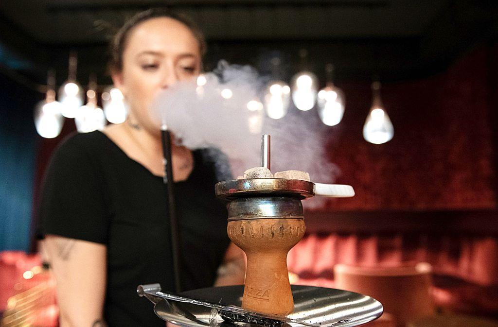 Ersetzen in Stuttgart  Shisha-Bars schwäbische  Traditionslokale? Foto: dpa