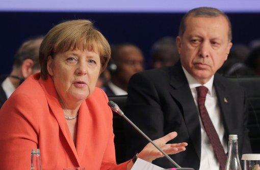Erdogan vermisst das zugesagte Geld