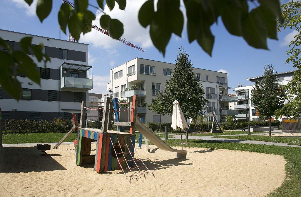 Die Grünen Höfe in der Pliensauvorstadt sind ein Musterbeispiel für gelungenen Wohnungsbau. Foto: Horst Rudel