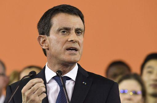 Valls tritt bei Präsidentschaftswahl an