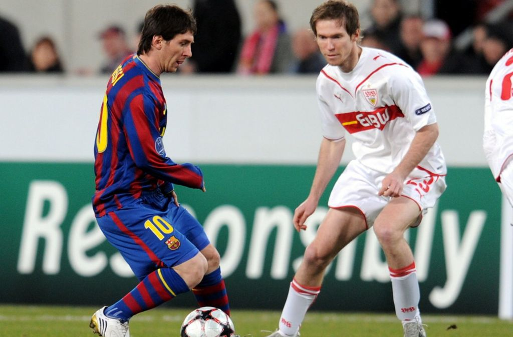 Alexander Hleb (rechts) spielte viele Jahre für den VfB Stuttgart. Foto: dpa/Bernd Weißbrod