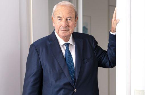 Großaktionär Heinz Hermann Thiele stimmt Rettungsplan zu