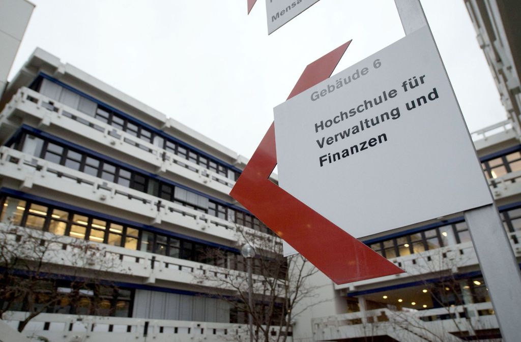 Ein Professor hat weitere schwere Vorwürfe gegen die  Beamtenhochschule in Ludwigsburg erhoben. Foto: dpa