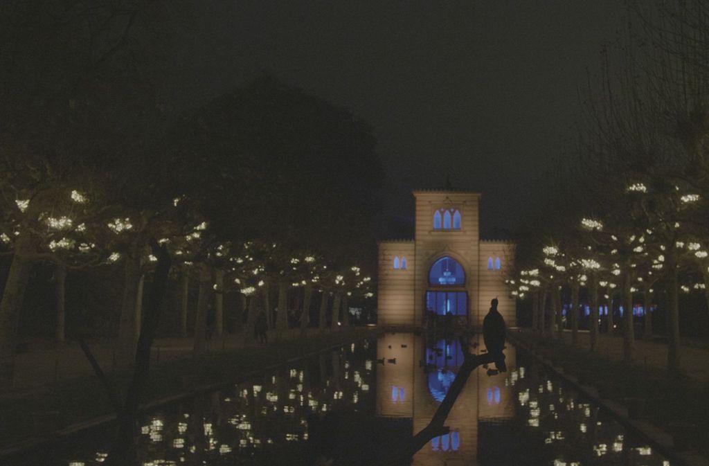 Die Damaszenerhalle wird beim Christmas Garden zu einem märchenhaften Ort. Foto: