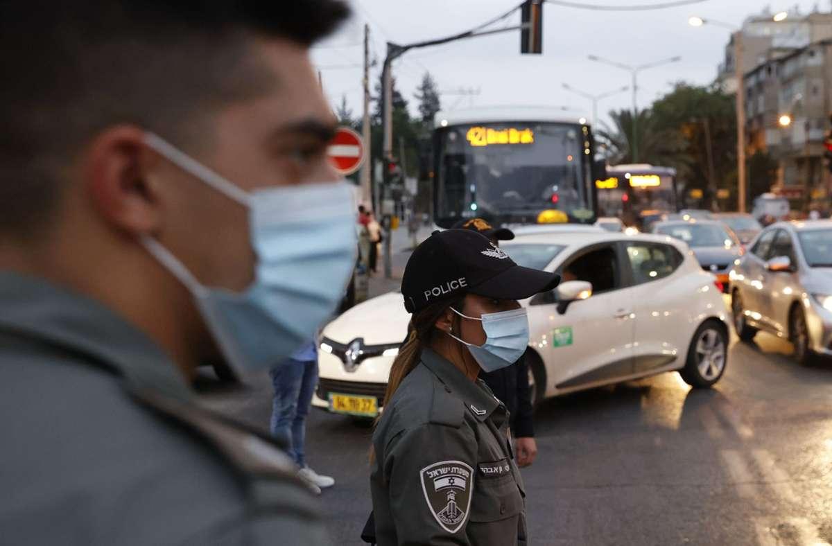 Ab Freitag gelten in Israel wieder drastische Ausgangsbeschränkungen. Foto: AFP/JACK GUEZ