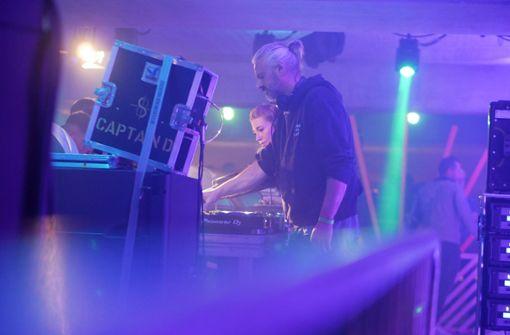 DJ legt auf Summer Campus Festival auf