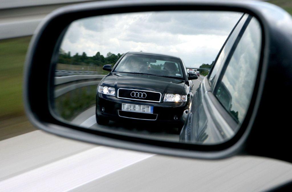 Das Aggressionspotential auf deutschen Straßen steigt laut einer neuen Umfrage. Foto: dpa/Z1022 Patrick Pleul