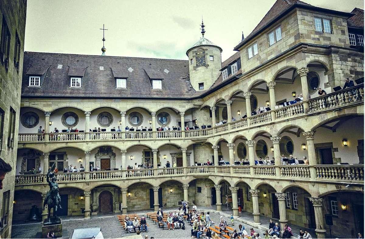 Kultur im Hof des Alten Schlosses in Stuttgart Foto: 7aktuell.de/A. Friedrichs